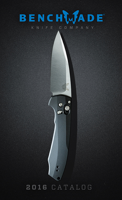 Benchmade Knives 2016 Cover