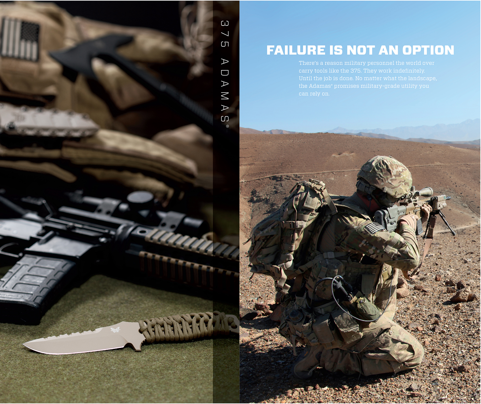 Benchmade Knives National Advertising Campaign