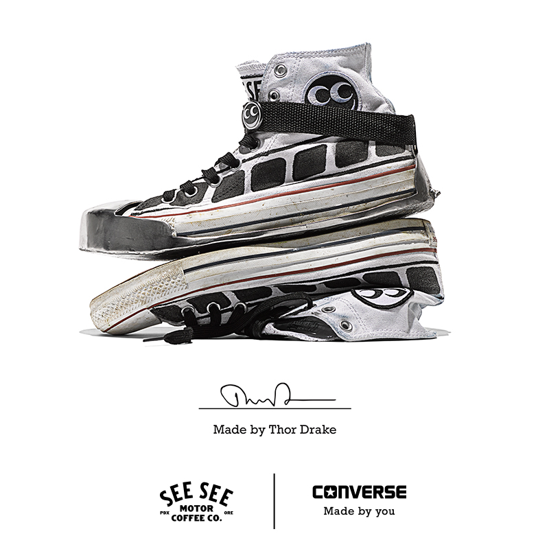 Converse SeeSee Motorcycles