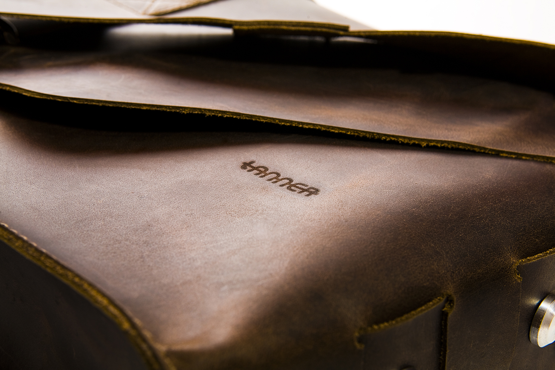 Tanner Goods Leather Messenger Bag